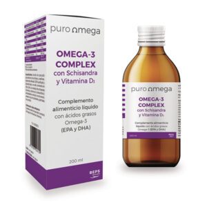 Omega-3 con Schisandra y Vitamina D3