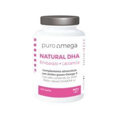 Natural DHA Embarazo & Lactancia 240 perlas - Puro Omega