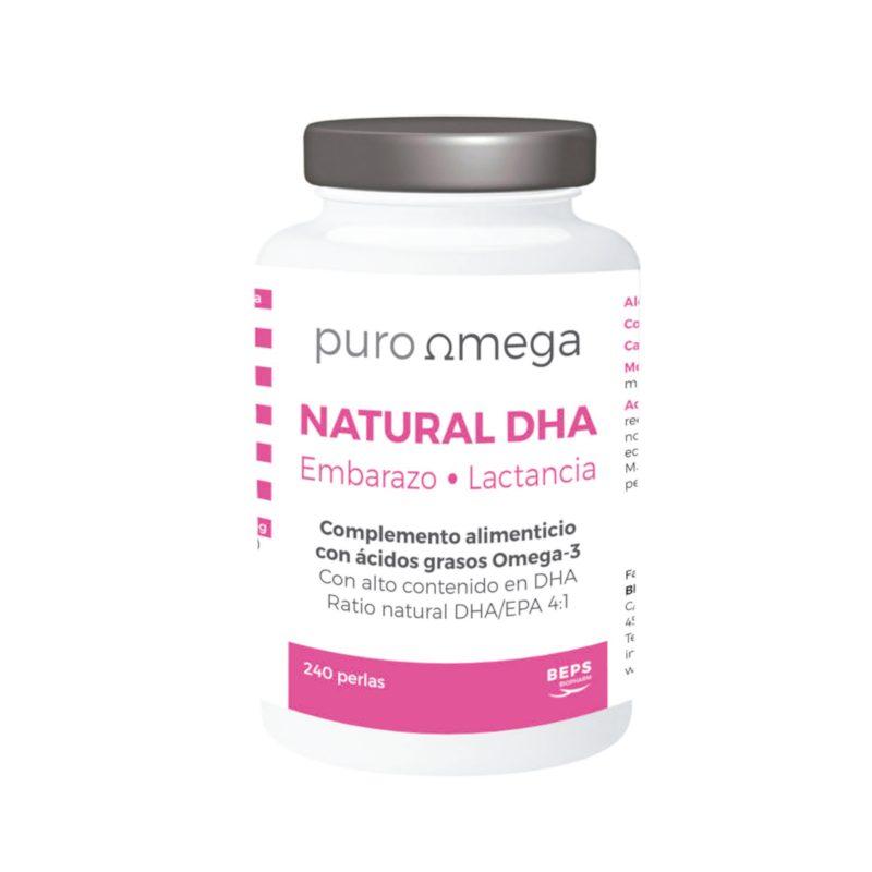 Natural DHA Embarazo & Lactancia 240 perlas – Puro Omega