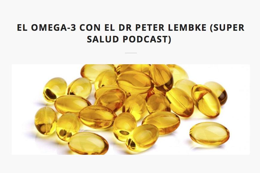 Entrevista al Dr. Lebke sobre omega-3