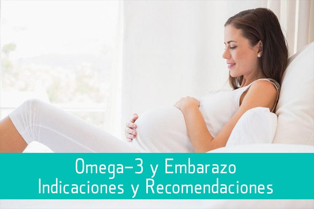 Omega-3 y embarazo, indiciaciones y recomendaciones - Puro Omega
