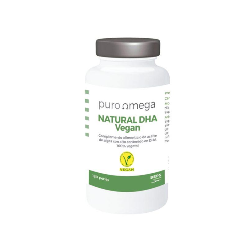 Natural DHA Vegan 120 perlas – Puro Omega