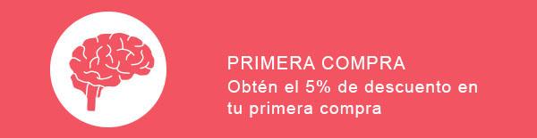 5% descuento en la primera compra