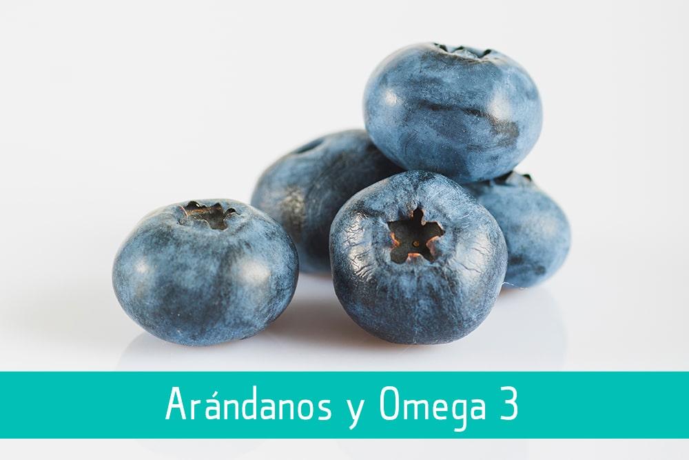 Arándanos y Omega-3 - Puro Omega