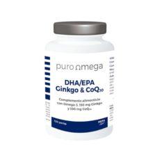 DHAEPA-Ginkgo & CoQ10 120 perlas - Puro Omega