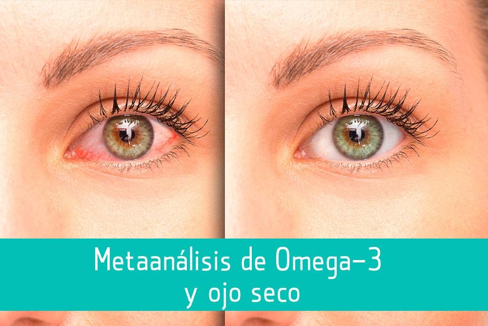 Metaanálisis de Omega 3 y ojo seco - Puro Omega
