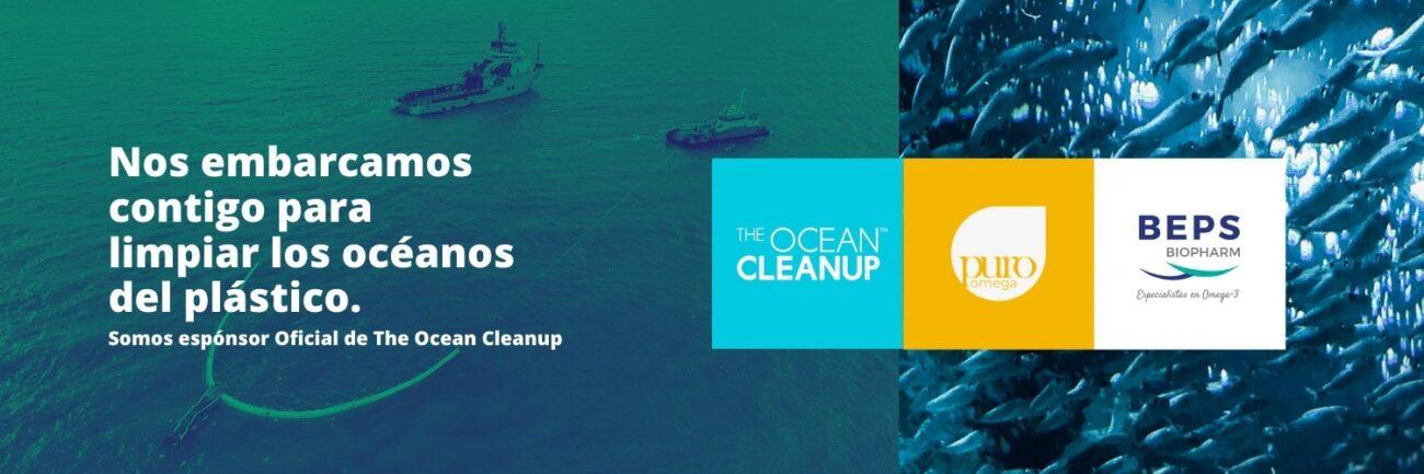 Beps Biopharm. Espónsor Oficial de The Ocean Clean Up.